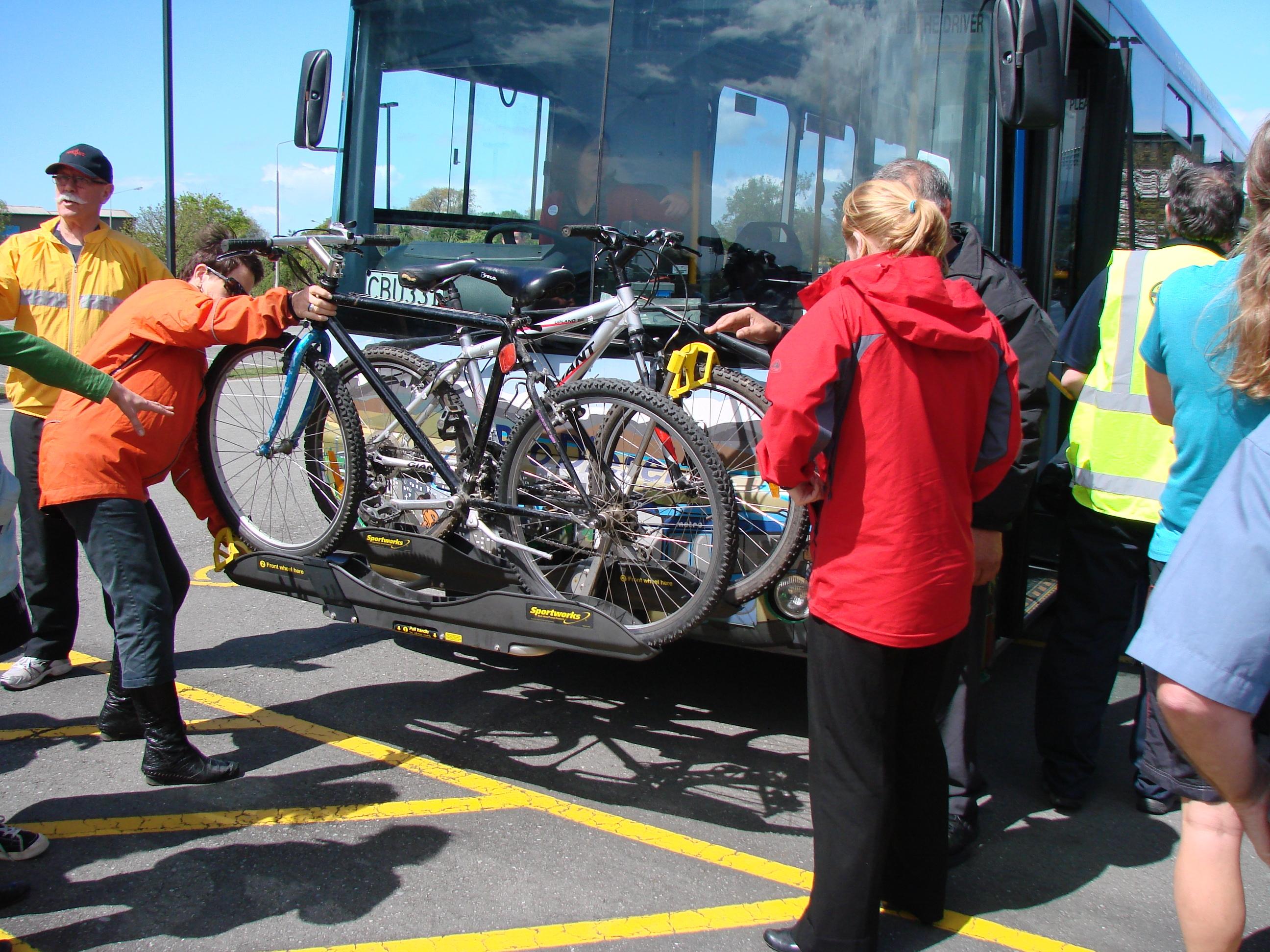 Christchurch Bus Bike Workshop October 21 2010 some