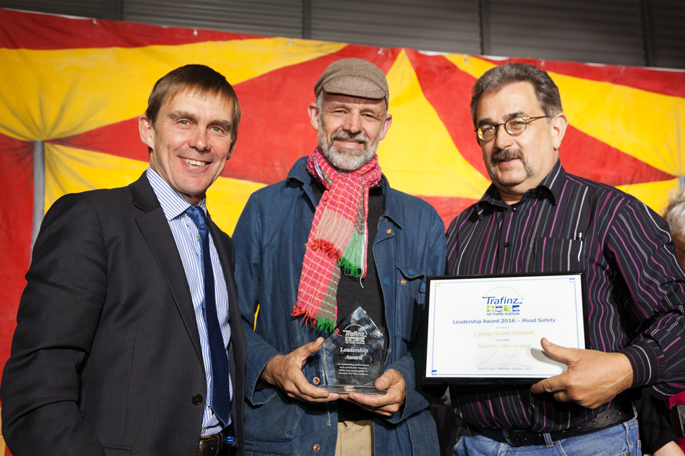 Award for CAN's Share the Road Campaign