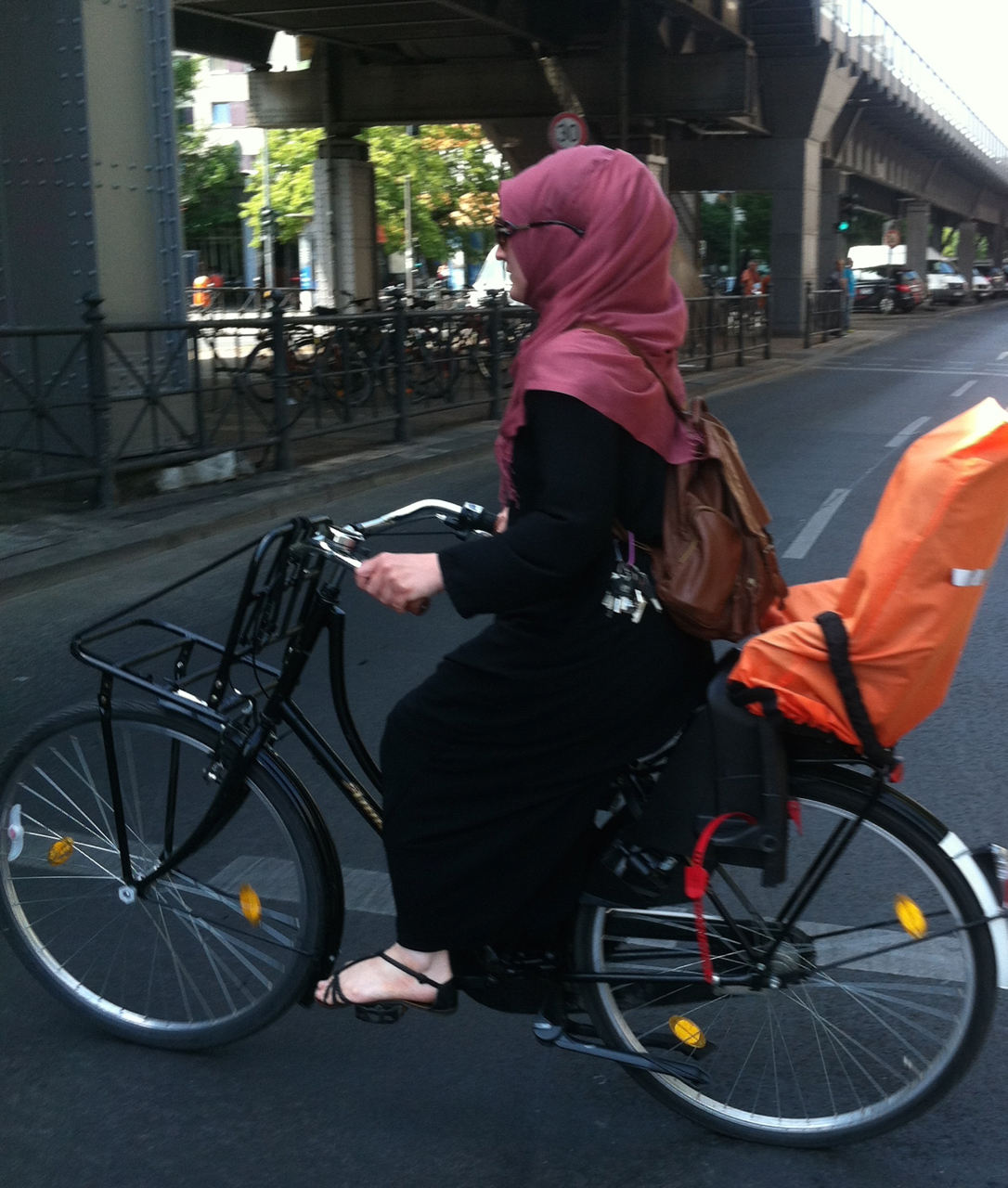 Typical Berlin Cyclist
