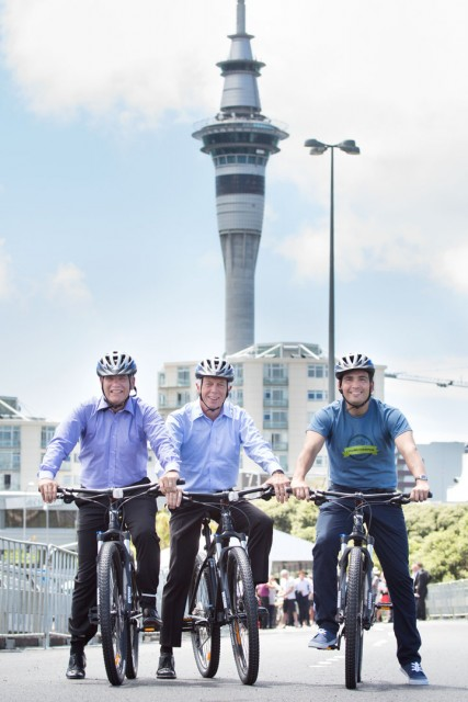 NZ cycleways programme launch January 2015