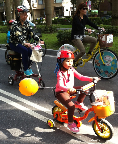 Bike Parade -part of the conference but open to public