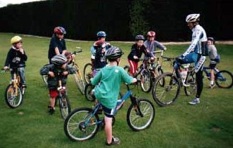 Cycling skills for kids